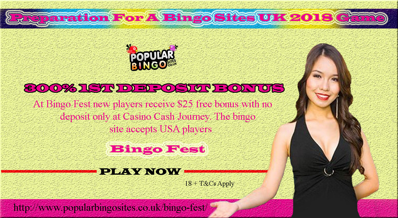 Preparation For A Bingo Sites UK 2018 Game