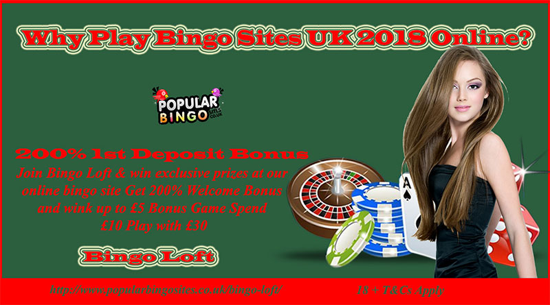 Why Play Bingo Sites UK 2018 Online?