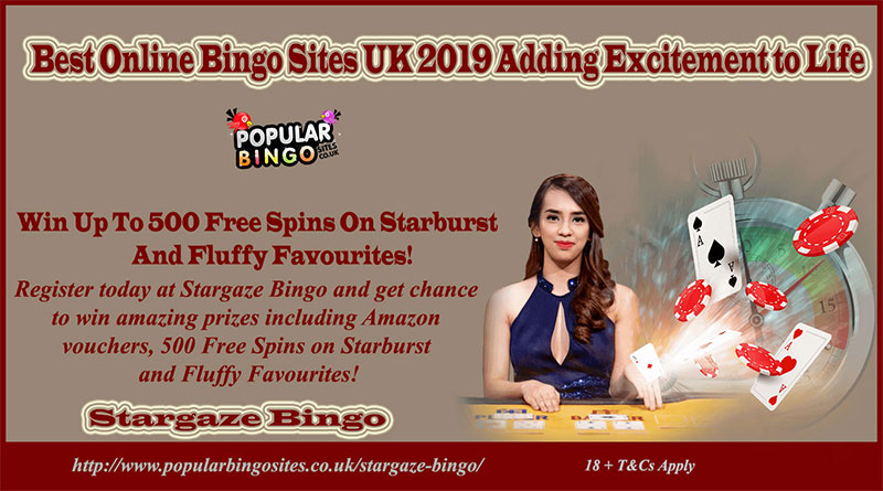 Best Online Bingo Sites UK 2019 Adding Excitement To Life
