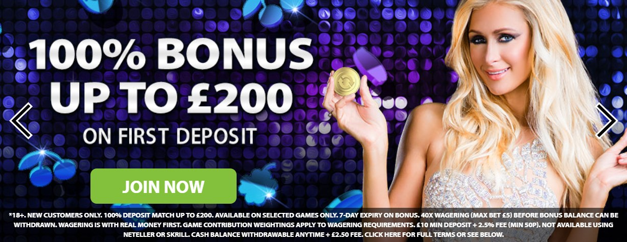 Get up to £200 Welcome Deposit Bonus + Free Spins at Quid Slots Casino