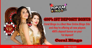 Bingo Sites Free Spins No Deposit