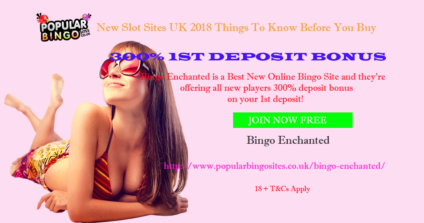New Slot Sites UK 2018 Things To Know Before You Buy