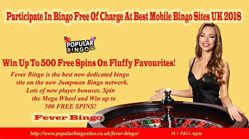 Participate In Bingo Free Of Charge At Best Mobile Bingo Sites UK 2018
